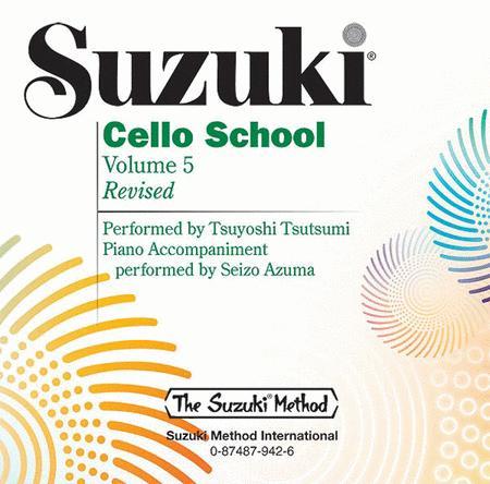 Suzuki Cello School, Volumes 5 - Compact Disc