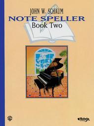 Note Speller - Book 2 (Revised)