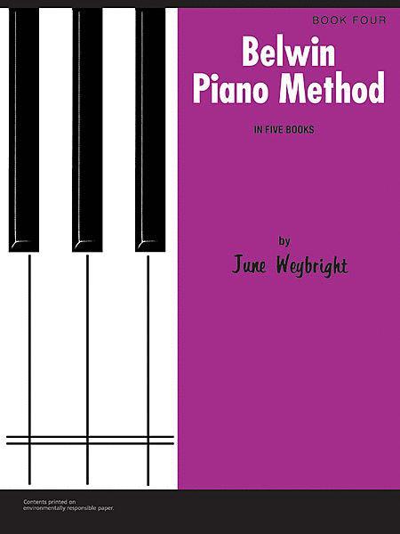 Belwin Piano Method, Book 4