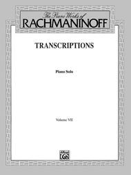 The Piano Works of Rachmaninoff, Volume 7