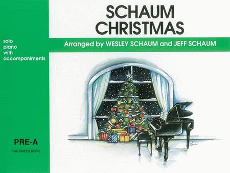 Schaum Christmas Pre-A The Green Book