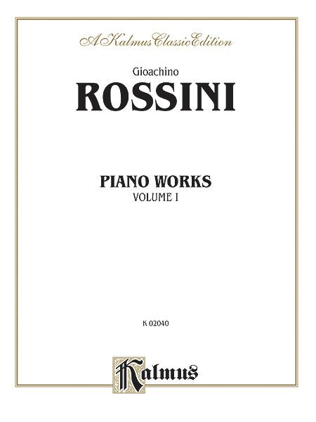 Piano Works, Volume 1