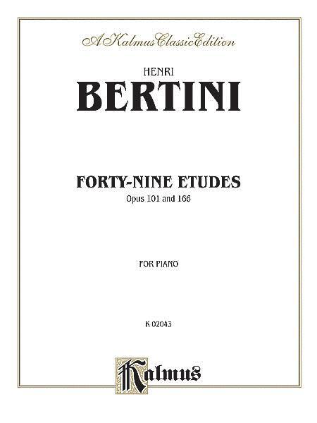 Forty-nine Etudes, Op. 101 & 166