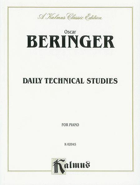 Daily Technical Studies for Piano