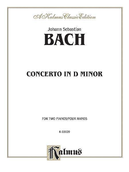 Concerto In D Minor - 2 Pianos/4 Hands