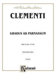 Gradus ad Parnassum, Volume 2