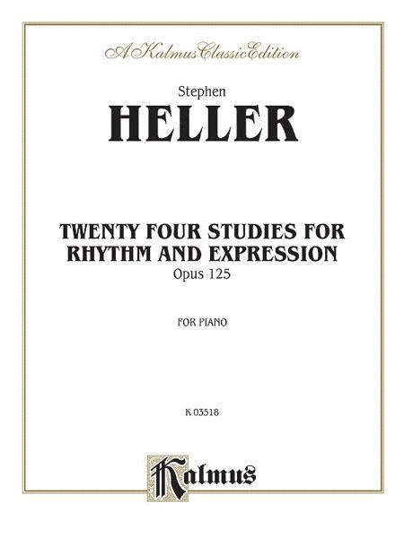 Twenty-four Piano Studies for Rhythm and Expression, Op. 125
