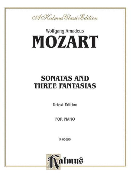 Sonatas & Three Fantasias