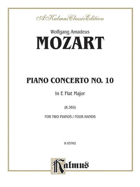 Piano Concerto No. 10 in E-flat Major for Two Pianos, K. 365