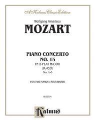 Piano Concerto No. 15 in B-flat, K. 450