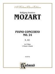 Piano Concerto No. 24 in C Minor, K. 491