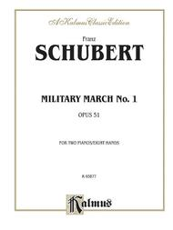Military March No. 1, Op. 51