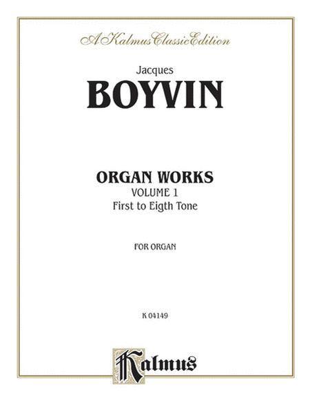 Organ Works, Volume 1
