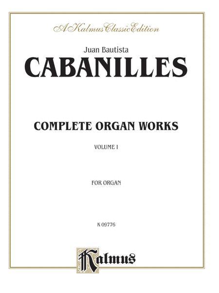 Complete Organ Works, Volume 1