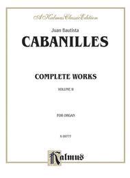 Complete Organ Works, Volume 2