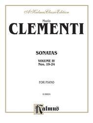 Piano Sonatas, Volume 4