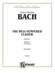 The Well-Tempered Clavier, Volume 1