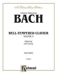 The Well-Tempered Clavier, Volume 2
