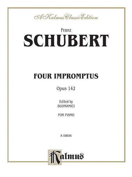 Four Impromptus, Op. 142