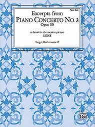 Piano Concerto No. 3, Op. 30 - Excerpts