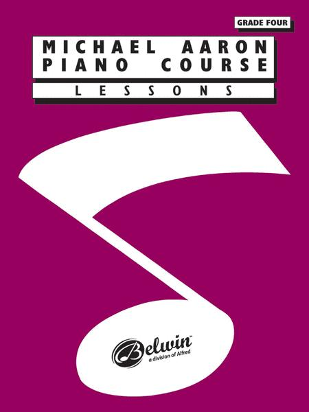 Michael Aaron Piano Course Lessons Grade 4