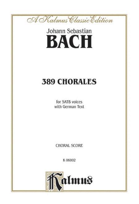 389 Chorales (Choral-Gesange)