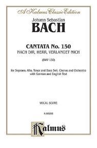 Cantata No. 150 -- Nach dir, Herr, verlanget mich