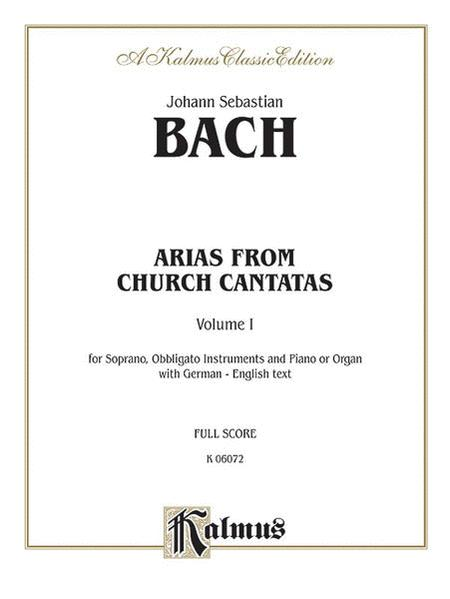 Soprano Arias from Church Cantatas (Sacred), Volume 1