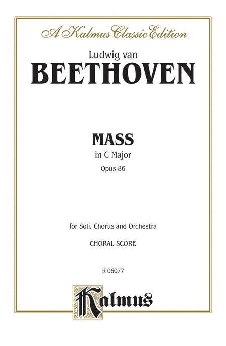 Mass in C Major, Op. 86