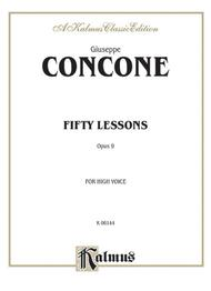 Fifty Lessons, Op. 9