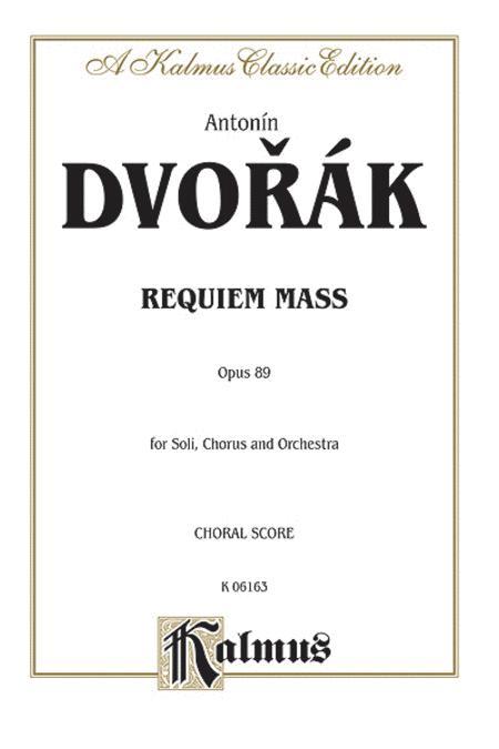 Requiem Mass, Op. 89
