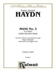 Mass No. 3 in D Minor (Lord Nelson or Imperial)