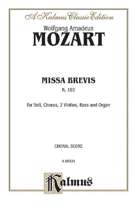 Missa Brevis, K. 192