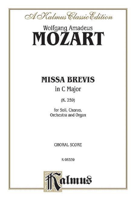 Missa Brevis in C Major, K. 259
