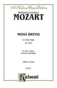Missa Brevis, K. 275
