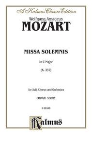 Missa Solemnis in C Major, K. 337