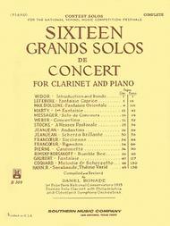 16 (Sixteen) Grand Solos De Concert