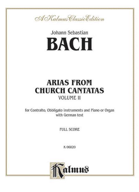 Contralto Arias (12 Sacred), Volume 2