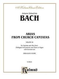 Soprano and Alto Arias (4 Duets), Volume 3