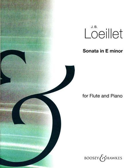 Flute Sonata in E minor