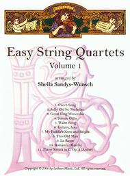 Easy String Quartets, Volume 1