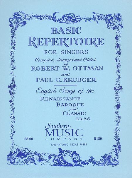Basic Repertoire For Singers