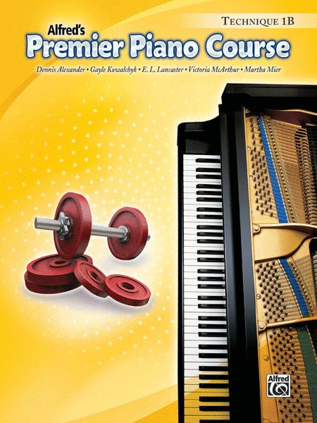Premier Piano Course Technique, Book 1B