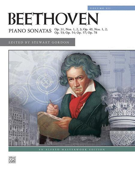 Beethoven -- Piano Sonatas, Volume 3
