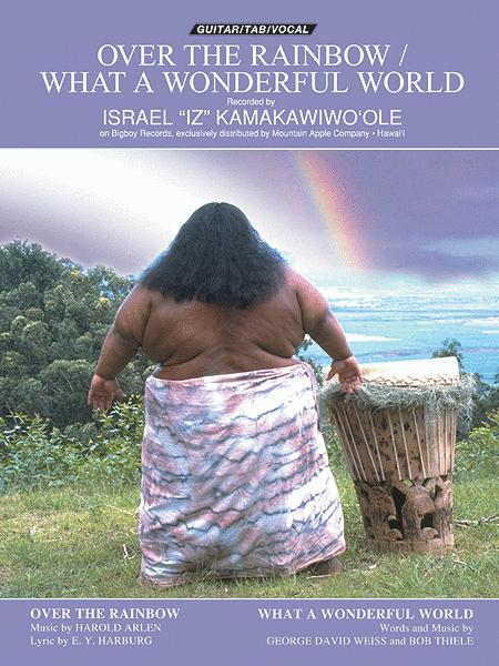 Over The Rainbow / What A Wonderful World Sheet Music By Israel ...