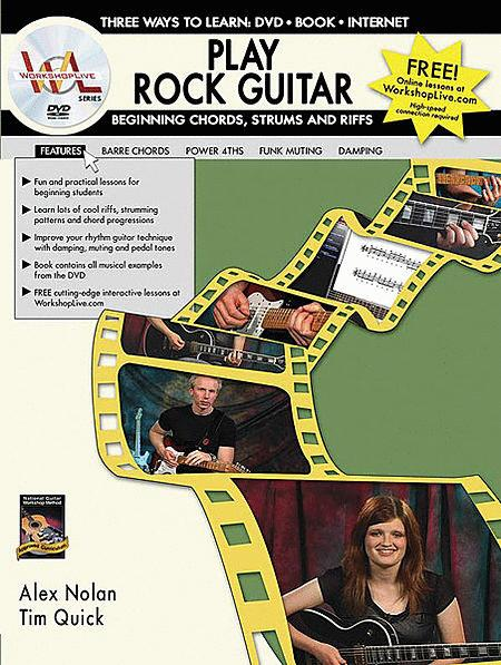 Play Rock Guitar -- Beginning Chords, Strums, and Riffs