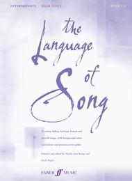 The Language of Song - Intermediate (High Voice)