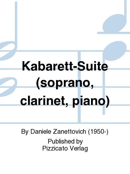 Kabarett-Suite (soprano, clarinet, piano)