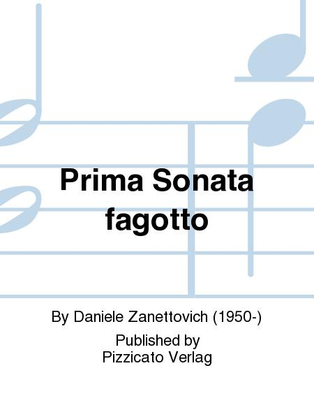 Prima Sonata fagotto