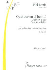 Klavierquartett B-Dur